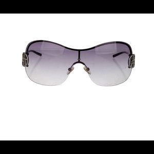 Armani oversized gradient sunglasses